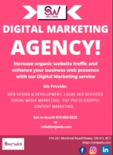 Pricelists of SmjWeb - Digital Marketing Agency | Web Design Ottawa/Gatineau