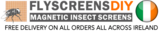 Magnetic Insect Screens, Dublin