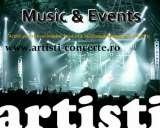 Artisti Concerte Romania (Music&Events by Sound Art ), Bucharest