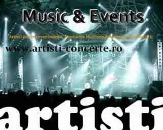 Artisti Concerte Romania (Music&Events by Sound Art )