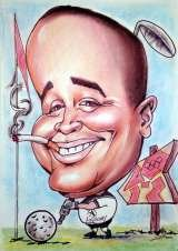 Ivo the Caricaturist 37 St.Paul's Rd