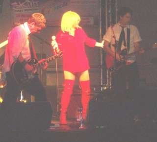 Blondee, the ultimate Blondie tribute band