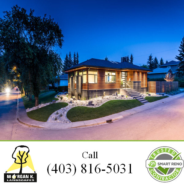 Landscape Lighting Designer Calgary AB Landscape Lighting Designer of Morgan K. Landscapes 11625 Elbow Drive Southwest, PO Box 83081 - Photo 1 of 2