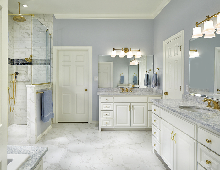 Award Winning Bathroom Remodel 2020 Profile Photos of BRYJO Roofing and Remodeling 913 18th St. - Photo 1 of 6