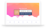 Logo In Laptop North West Web Design UK Barlows Buildings