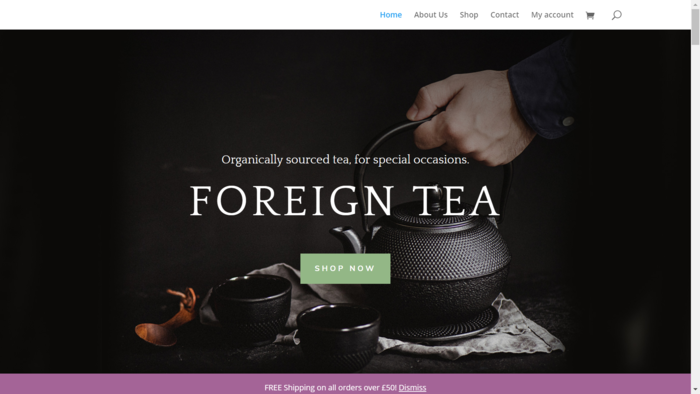 Foreign Tea Examples of North West Web Design UK Barlows Buildings - Photo 3 of 6