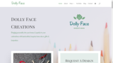 Dolly Face Creations North West Web Design UK Barlows Buildings