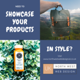 Showcase your products North West Web Design UK Barlows Buildings