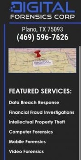 Digital Forensics Corp 2301 Preston Rd.