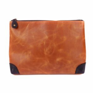 Handmade Leather Toiletry Bag Products of Leather Article 246 E Colden Ave - Photo 8 of 10