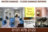 Water Damage Clean Up, Plasterers in Edinburgh, Free Quotes And Advice 0131 476 2122