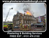 Fire Damage Repairs, Plasterers in Edinburgh, Free Quotes And Advice 0131 476 2122