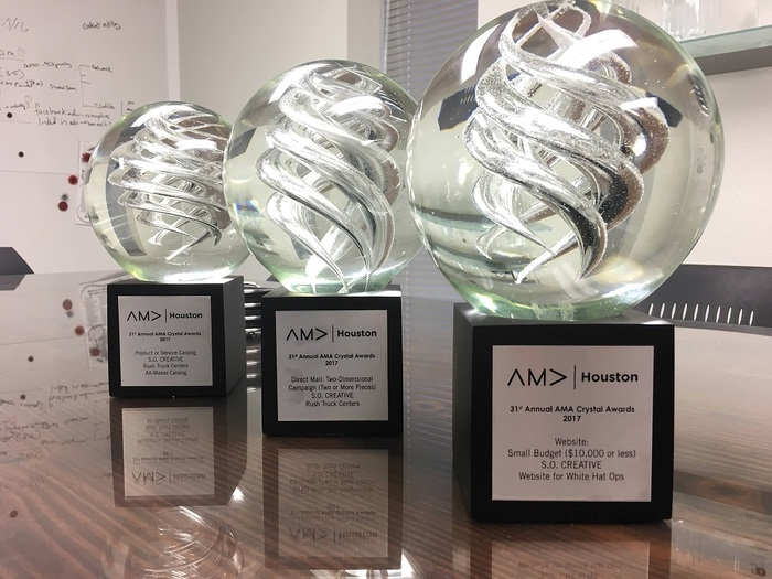 S.O. Creative has earned several awards throughout the years. The agency has been recognized for its creative work, strategic approach, and white-glove service. Profile Photos of S.O. Creative 1610 Silber Road - Photo 3 of 6