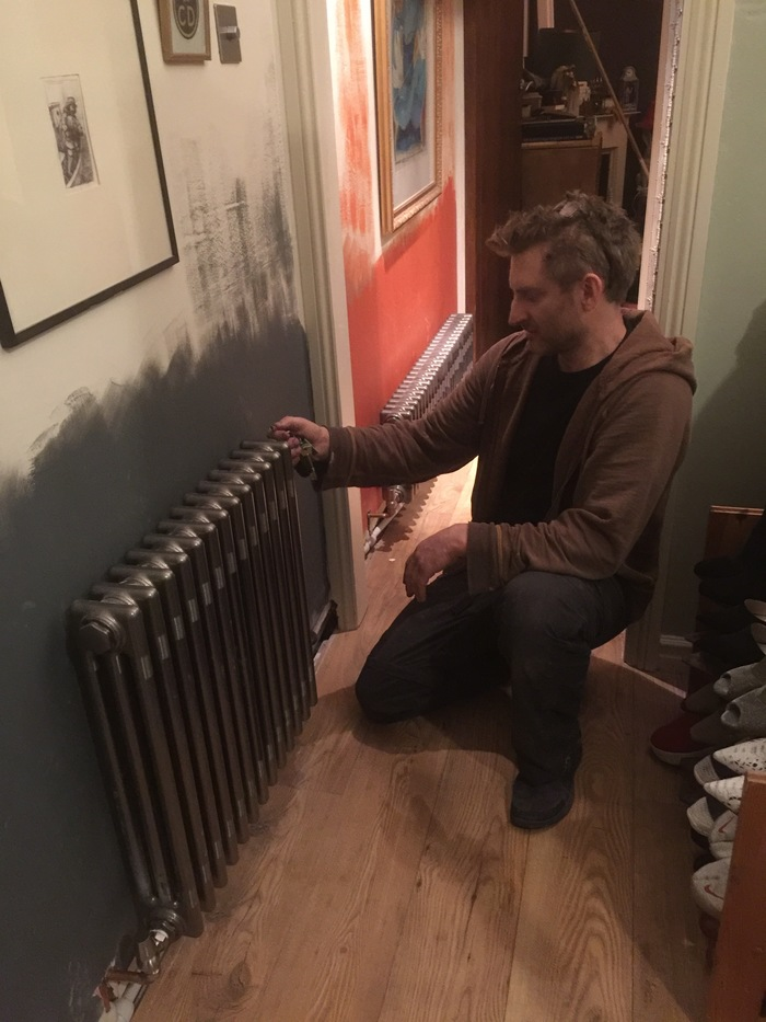 Radiator installation  New Album of Practical Plumbing Solutions - Gas engineer in and around Brighton 20 Park Manor, London Road - Photo 12 of 12