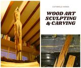 Hand carved sculpture made of wood Cotswold Hands - Woodwork, Carpentry & Recycled Art Craft 127 Farmers Close