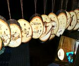 Wood Christmas decorations Cotswold Hands - Woodwork, Carpentry & Recycled Art Craft 127 Farmers Close