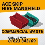 Ace Skip Hire Mansfield 31 Limes Ave, Nether Langwith