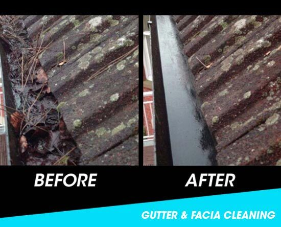 Before and after a gutter cleaning visit by our gutter cleaners. Get your gutters cleaned & unblocked ready for Winter. We work in Leicester, Loughborough, Hinckley, Ashby & Coalville. New Album of Storm Window Cleaning Leicester 58 Copson Street, Ibstock, Coalville - Photo 18 of 19