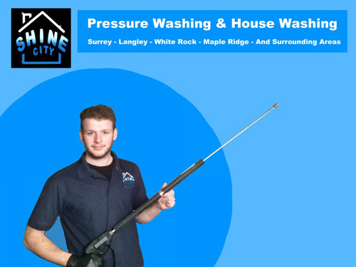 Roof Cleaning Surrey British Columbia<br />  Profile Photos of Shine City Pressure Washing 6949 196 st - Photo 2 of 6