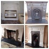 Restoration of Victorian Fireplace Store