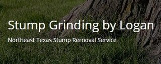 Stump Grinding by Logan