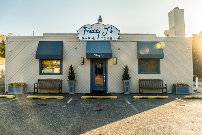 The Front of the Building of Freddy J's Bar & Kitchen in Mays Landing, NJ New Album of Freddy J's Bar & Kitchen 5698 Somers Point Road - Photo 3 of 11