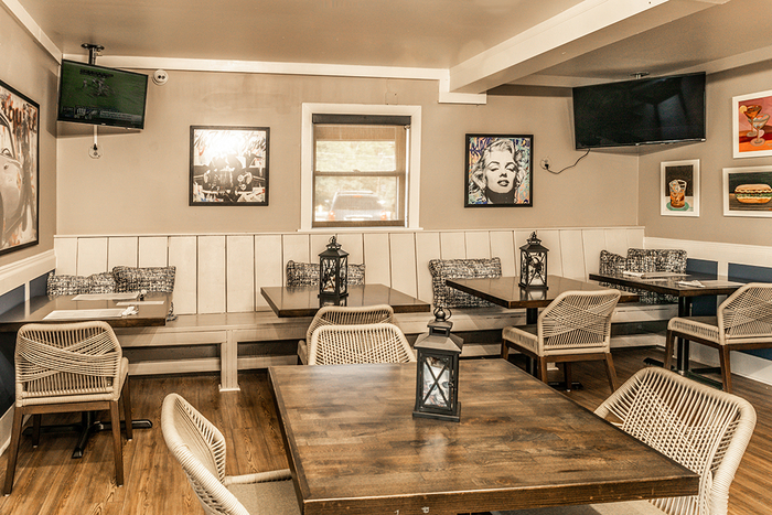The Back Dining Room of Freddy J's Bar & Kitchen in Mays Landing, NJ New Album of Freddy J's Bar & Kitchen 5698 Somers Point Road - Photo 7 of 11