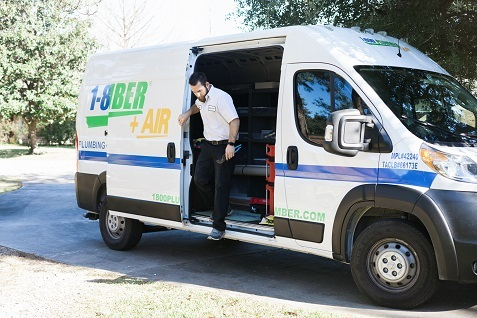 Mike Stepping Out of Van Profile Photos of 1-800-PLUMBER +AIR 3905 Halik St - Photo 5 of 6
