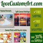 Top Photo to Painting service by LoveCustomArt.com