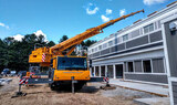 Crane Rentals for Roof Top Lifts Granite State Crane 16 Oil Mill Road