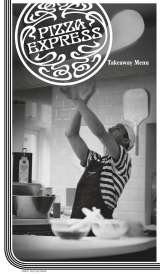 Menus Prices 4 Pages Pizza Express St Andrews Pizza