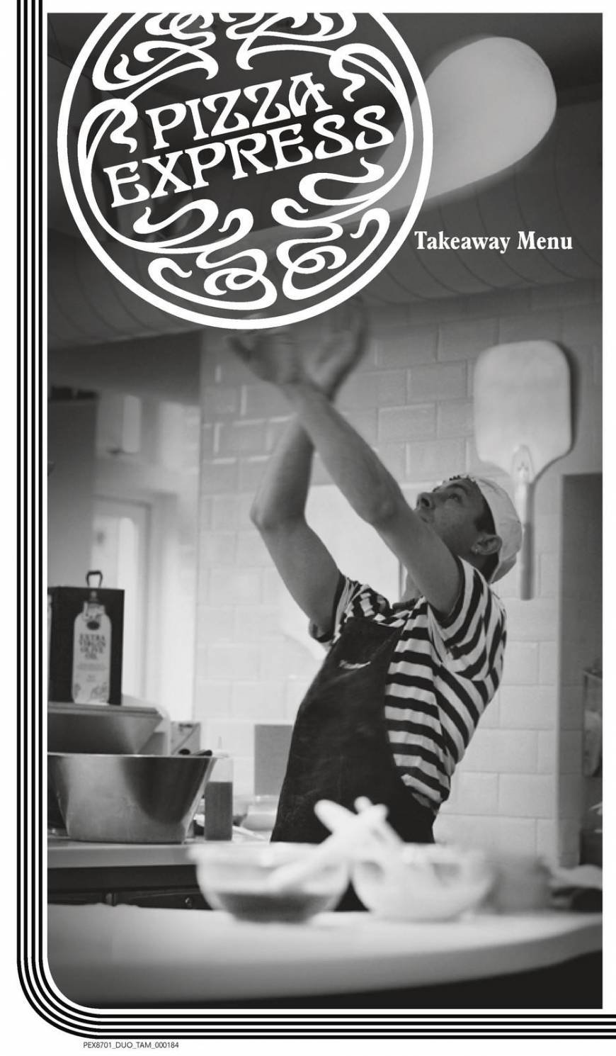 4 Of 4 Price Lists Menus Pizza Express Banstead Pizza