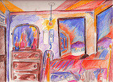 Earls Court fulham bed and breakfast in London Sketch