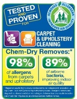 Tested & Proven Results for our Columia City & Huntington Area Neighbors & Friends, Chem-Dry of Allen County IV, Columbia City