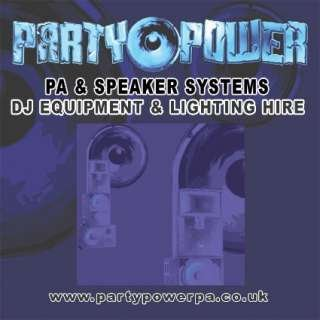 PARTY POWER PA & DJ EQUIPMENT HIRE
