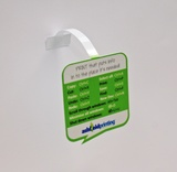 Printed Shelf Wobbler (Shelf Talker) POS - Ashfield Printing