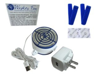 Washer Fan™ Breeze™ - Permanently Eliminate or Prevent Washer Odor!