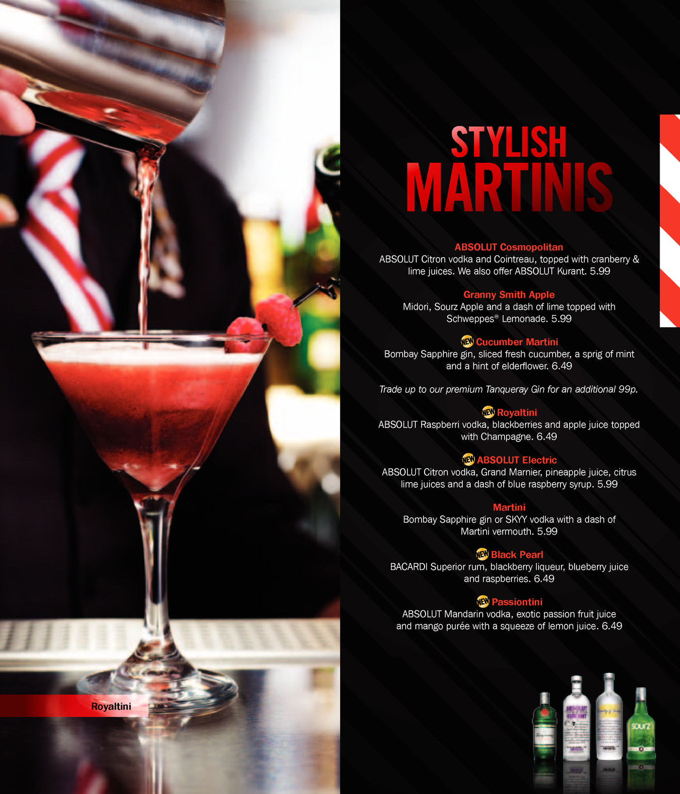 menus & prices (33 pages) – t.g.i. friday's westfield stratford city
