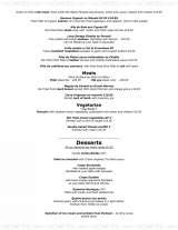 Pricelists of the guildhall tavern - poole