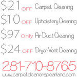 Carpet Cleaners Pearland Texas