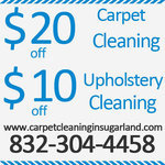 Carpet Cleaning In Sugar Land