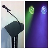Stage Hire, Lecterns, lighting and PA systems Hertfordshire. Call CFM on 0843 289 2798