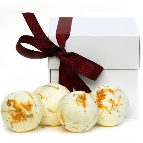 Bath creamer balls - available in 4 beautiful fragrances Bath and beauty gift treats of Chery Lin Skin Therapy Tetbury - Photo 8 of 10