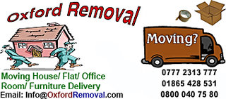 Removals Services Oxford, Man With a Van Oxfordshire