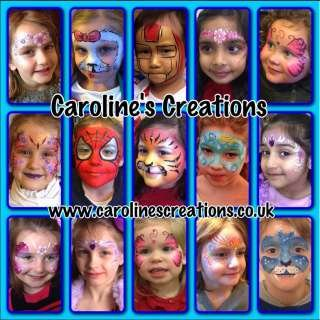 Caroline's Creations Face Painting & Balloons Essex