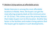 Pricelists of Property in Noida Extension