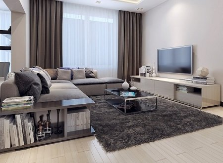 Living room contemporary style, 3D images New Album of Cleaning Services Toronto Pro 1075 Bay Street #102A - Photo 4 of 9