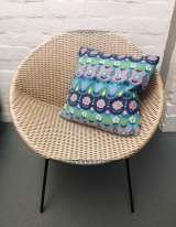 1960s' vintage fabric cushion £36.00