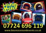 Bouncearound. Bouncy castle hire in Hucknall, Mansfield, Notts and Derby.