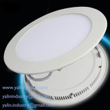 round LED panel downlight, ultra thin SMD down light, 2835SMD 12W ceiling lights, super slim LED interior panel lighting, web: www.yalinlighting.com